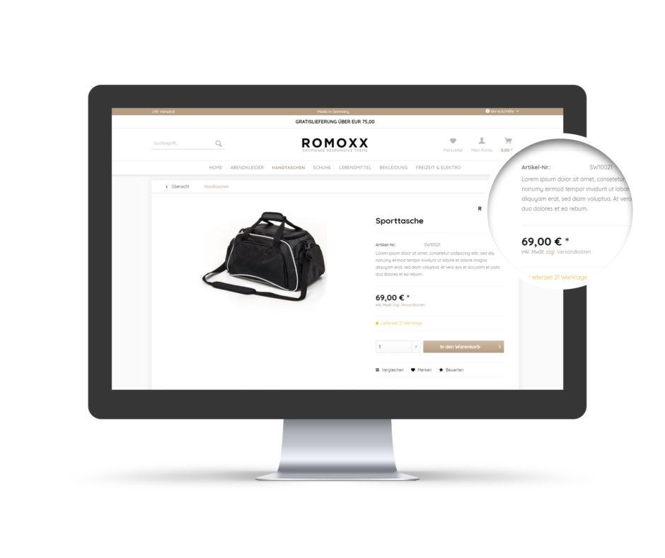 shopware template